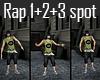 Rap 1+2+3 spot - 3 in 1