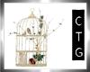 CTG CHRISTMAS BIRD CAGE