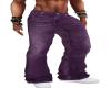 western Purple Jeans