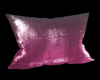 !SG Pink Metallic Pillow