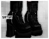 Black Lolita Boots