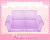 Kids scaled couch purple