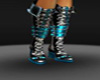 {DD} sexy teal boots