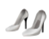 xDFAx White pumps