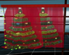 !E! Christmas Curtains