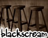 bar stool wooden