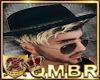 QMBR Hat & Hair Blk&Bld