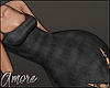 $ Black Leather Dress  M
