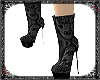 Lace Ankle Boot black