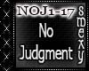 No Judgment
