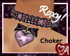 .a Heartbow Choker Roxy