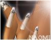 Natural Gem French Nails