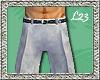 L23 Tux Grey Pants