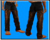 Male Jean chaps Bro/blk