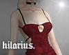 H   red black velvet