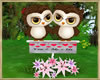 ~H~Valentine Owl Gold