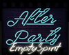 After Party Sign