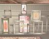 Paris Rose Art Frames