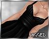 Arya dress black