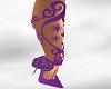 *AL* Floral Vine Purple