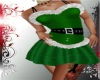 CB GREEN SANTA DRESS