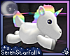 SSf~ Rainbow Unicorn Toy