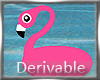 Scaled Flamingo Tube 40%
