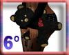 6D Black Love Teddy