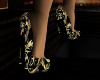 ~TQ~Gold Elegance Pumps