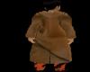 MJ9 brown suade coat