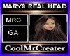 MARYS REAL HEAD