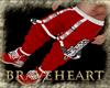 (DBH) merry xmas pants M
