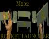 M202 rocket launcher gun