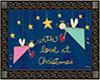 W Love Christmas Mat