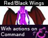 Red/Black Demon Wings