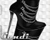Daring Black Boot