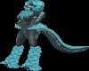 S_Blue Lightning LegFur