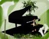 Animated Black Piano