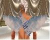 Blue cupid wings