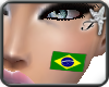 #Brasilian face flag