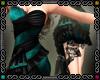 {D} Teal Cocktail Dress