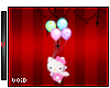 Hello Kitty w Balloon