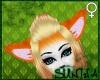 )S( Furry FOX Ears I