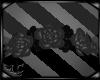 Gray Rose Headdress