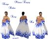blue robes