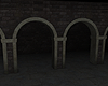 Dark Arched Room