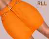 S. Orange Skirt RLL