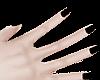 B! black nail polish