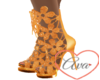 Flower Heels Copper