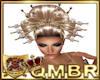 QMBR Emp Gold Hair Pins